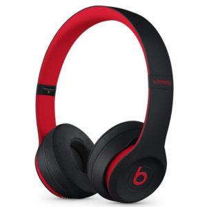 b7c28417f82 Beats by Dr. Dre Beats Solo3 Wireless On-Ear Headphones (Defiant Black/Red)